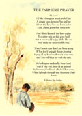 Country Rhymes poetry - The Farmer's prayer