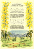 Country Rhymes poetry - A Land of Green & Gold