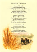 Country Rhymes poetry-  Sons of the Soil