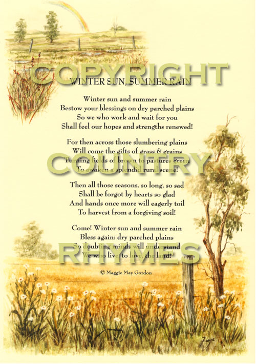 Country Rhymes A Classic Collection Of Outback