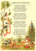 Country Rhymes poetry -  Christmas in the Bush